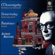 Pictures At An Exhibition: Brendel+stravinsky: Petrouchka, Balakirev