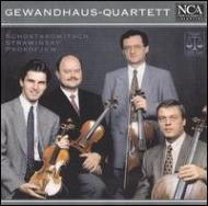 String Quartet.3 / .2 / 3 Pieces: Gewandhaus Q