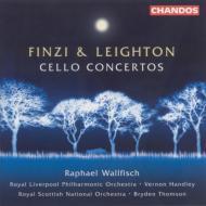 フィンジ&レイトン:チェロ協奏曲 ウォルフィッシュ(vc)/ハンドリー、トムソン/ロイヤル・リヴァプール・フィルハーモニック