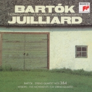String Quartet.3, 4 / 5 Movements: Juilliard.sq