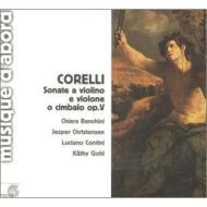 ヴァイオリン・ソナタ作品5より第1番〜第6番 バンキーニ、クリステンセン、コンティーニ、ゴール