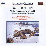 ヴァイオリン協奏曲第1番/第2番/他 バスウェル/クチャル/ウクライナ交響