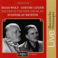 Goethe Lieder: F-dieskau(Br)s.richter(P)(1977)