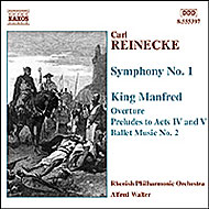 交響曲第1番/歌劇「マンフレッド王」より ミュラー/ヴァルター/ライン・フィル