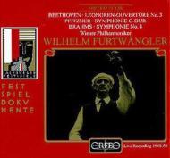 ブラームス:交響曲第4番、プフィッツナー:交響曲第2番、他 フルトヴェングラー&VPO(1950)