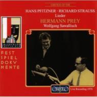 Lieder: Prey(Br)sawallisch(P)Salzburg Live 1970