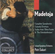マデトーヤ:交響曲全集 サカリ/アイスランド交響楽団