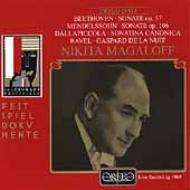 Piano Sonata.23 / 3: Magaloff(1969 Salzburg)+dallapiccola, Ravel