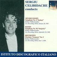 Sym.4 / 94: Celibidache / Bpo ('50, '46)+leonore.3