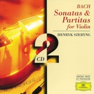 バッハ(1685-1750)/Sonatas & Partitas For Solo Violin: Szeryng
