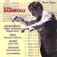 Sym.4 / Peer Gynt: Barbirolli / Halle.o