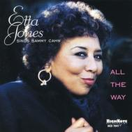 All The Way: Etta Jones Singssammy Cahn