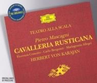 Cavalleria Rusticana: Karajan / Teatro Scala Cossotto Bergonzi / Mascagni