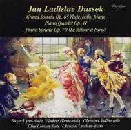 Grand Sonata, Piano Quartet, Piano Sonata: Conway(Fl)lynn(Vn)blume(Va)