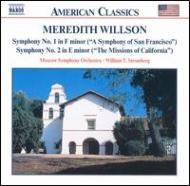 交響曲第1番「サンフランシスコ交響曲」/第2番「カリフォルニアの伝道」 ストロンバーク/ボーンマス交響楽団