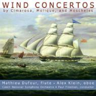 Concerto For Oboe & Flute: Dufour(Fl)a.klein(Ob)freeman+molique, Moscheles