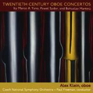 Oboe Concerto: A.klein(Ob)Freeman / Czech National So +sydor, M.a.yano