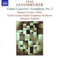 交響曲第3番/ヴァイオリン協奏曲 カリツケ/北ドイツ放送交響楽団/グロイター