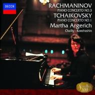 チャイコフスキー: ピアノ協奏曲第1番/ラフマニノフ:第3番 マルタ・アルゲリッチ