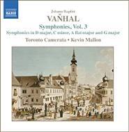 ヴァンハル:交響曲集第3集 マロン&トロント・カメラータ