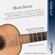 ギター協奏曲第3番、ほか カテマリオ(ギター) ハーゼルベック&ウィーン・アカデミー