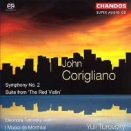ジョン・コリグリアーノ:交響曲第2番、他/エレノラ・トゥロフスキー(vn.)、トゥロフスキー(指揮)、イ・ムジチ・ドゥ・モントリオール