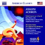 ヴァイオリン協奏曲第1番、組曲『ゴーレム』、他 オリヴェイラ(vn)シルヴァースタイン&ベルリン放送響、他