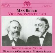 ヴァイオリン協奏曲.1、3 Janicke(Vc)Stenz / Gurzenich O