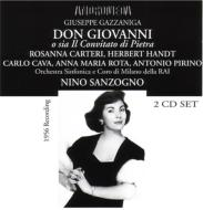 歌劇『ドン・ジョヴァンニ』 カルテーリ、サンツォーニョ(2CD)