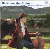 Cello Concerto: E.feldman(Vc)Gambill / Nashville Co +fussell: Right River