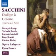 歌劇『コロンヌのエディプ(オイディプス)』全曲 R.ブラウン&オペラ・ラファイエット管(2CD)