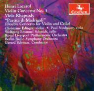 Concerto Works: Edinger(Vn)Neubauer(Va)W.e.schmidt(Vc)Schwarz(Cond)
