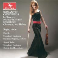Violin Concerto.3: Wenk-wolff(Vn)Burkh(Cond)+rontgen: Concerto, Chausson