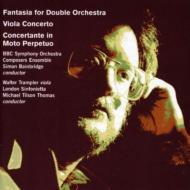 Viola Concerto: Trampler(Vn)Tilson Thomas / London Sinfonietta +etc