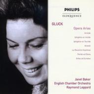 グルック (1714-1787)/Opera Arias: J.baker(Ms) Leppard / Eco
