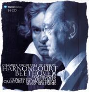 Comp.symphonies, Concertos, Missa Solemnis, Etc: Harnoncourt / Coe Aimard / Beethoven