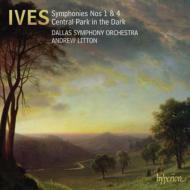 交響曲第1番、第4番、宵闇のセントラル・パーク リットン&ダラス交響楽団