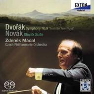 ドヴォルザーク:交響曲第9番『新世界より』、ノヴァーク:スロヴァキア組曲 マーツァル&チェコ・フィル