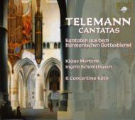 『音楽による礼拝』〜カンタータ集 シュミットヒューゼン、メルテンス、イル・コンチェルティーノ・ケルン(2CD)