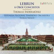 ルブラン:オーボエ協奏曲集 インデアミューレ、ヴァヴィロフ、エストニア国立交響楽団