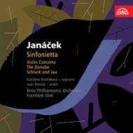 シンフォニエッタ、ドナウ交響曲、『魂のさすらい』、他 イーレク&ブルノ・フィル、ジェナティー(vn)