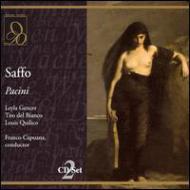 パチーニ:歌劇『サッフォ』全曲 カプアーナ&サン・カルロ歌劇場、ジェンチェル、他(2CD)