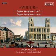 オルガン交響曲第5番、第6番 ウォルシュ(org)