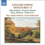 イギリス弦楽小曲集 第5集 G.サザーランド&ロイヤル・バレエ・シンフォニア