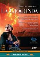 歌劇『ジョコンダ』全曲 ピッツィ演出 レンゼッティ&アレーナ・ディ・ヴェローナ(2DVD)