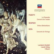 La Pisanella Suite, Concerto Del'estate: Gardelli / Sro +respighi, N.rota