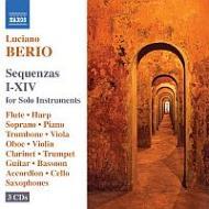 セクエンツァ第1〜第14 B.ベルマン(p)シュルマン(fl)アーノルド(S)シャルツ(ob)、他(3CD)