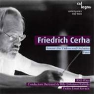 チェルハ:ヴァイオリン協奏曲、『帯』 ド・ビリー&オーストリア放送響、コヴァチッチ(vn)、他