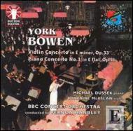 Piano Concerto.1, Violin Concerto: M.dussek(P)Mcaslan(Vn)Handley /
