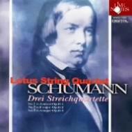 シューマン、ロベルト(1810-1856)/String Quartet 1 2 3 : Lotus Sq